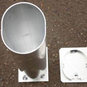 Reserve grondkoker (120 cm)met deksel. Prijs per stuk.