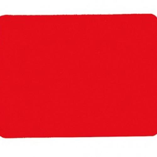 Scheidsrechterkaart rood. Afmeting; 12 x9 cm.per stuk.