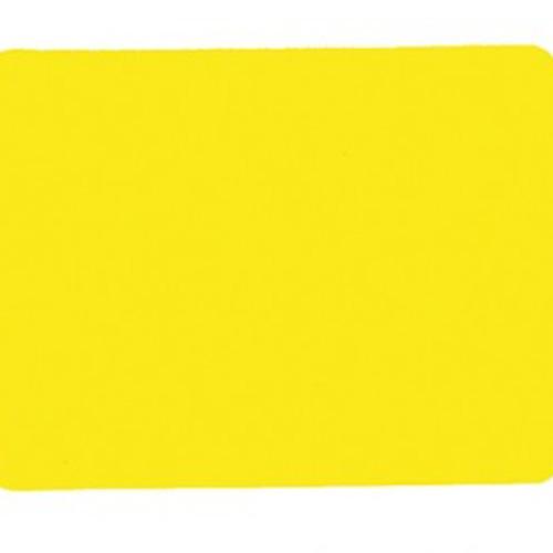 Scheidsrechterkaart geel. Afmeting: 12 x 9 cm. per stuk