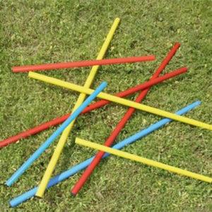 Stangen voor de trainingskegels en markeringshoedjes. Dikte doorsnee 25 mm, lengte 160 cm.Meerdere kleuren. Per stuk.
