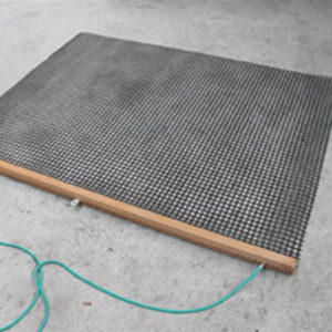 sleepmat voor zand ingestrooide tennisbanen