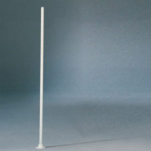 Maatstokje van aluminium, voor het tennisnet op de juiste hoogte te brengen.  Prijs per stuk