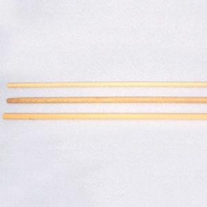 Reserve houten steel ø32 mm en 170 cm lang. Prijs per stuk