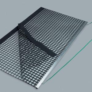 Dubbel sleepnet met aluminium trekbalk