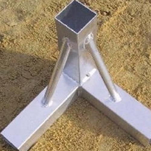 Beach handbaldoel. Beach handbaldoel heeft een afmeting van 3 x 2 meter.De doelpaal heeft een profiel van 80 x 80 mm,geel gecoat.Doel is eenvoudig op te bouwen d.m.v. speciale grondkokers met deksels die in de zand gegraven worden.Inclusief netb