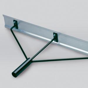 Aluminium baanschuimer