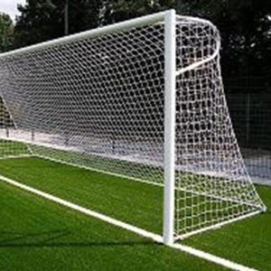 Voetbal doelnet Real wit