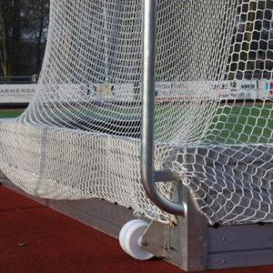 transportwielen hockey doelen