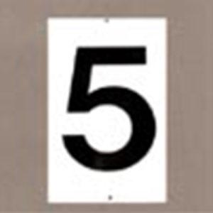 baannummer bord