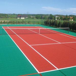 vloertegels tennis
