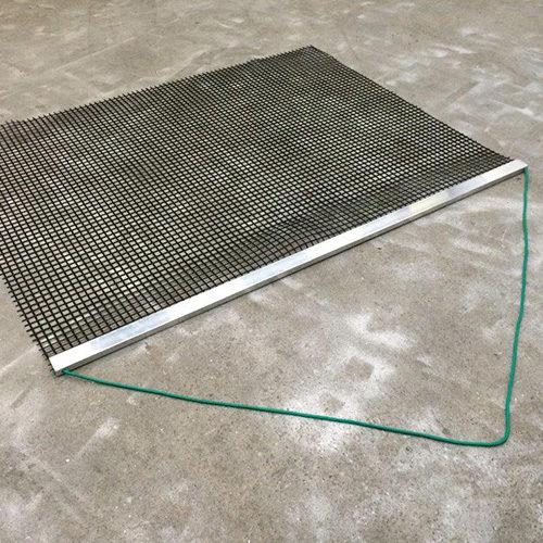 sleepmat met aluminium trekbalk