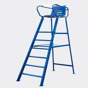 scheidsrechtersstoel blauw