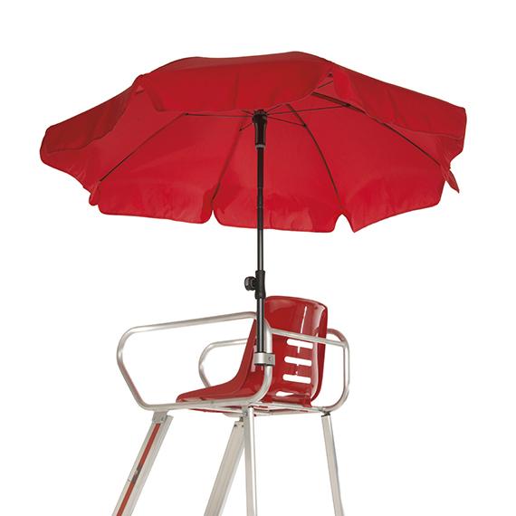 parasol voor scheidsrechtersstoel