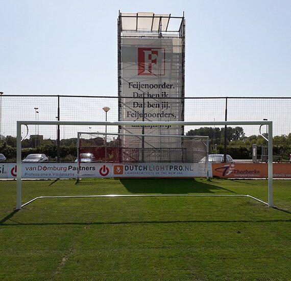 Nieuwe voetbal doelen voor Feijenoord